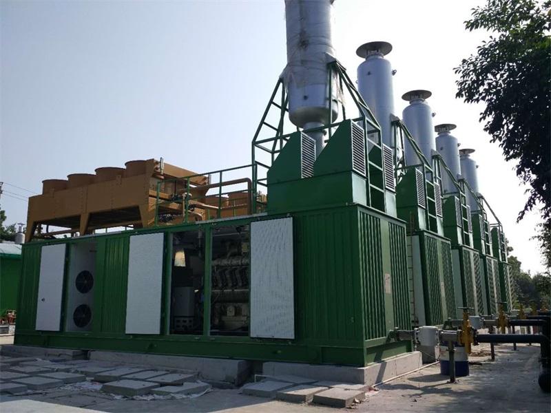 5MW沼气电站