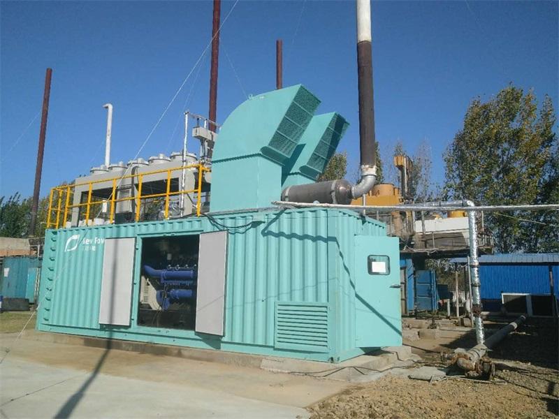 河南2×700kW填埋气发电项目