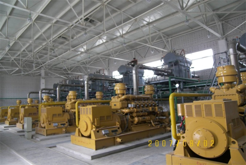 河南双汇3MW沼气电站
