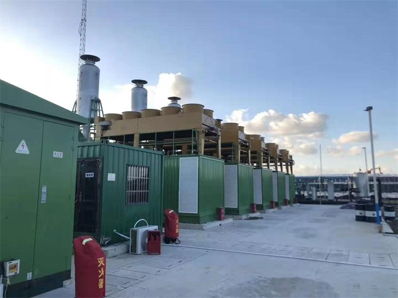 青岛11MW填埋气发电项目