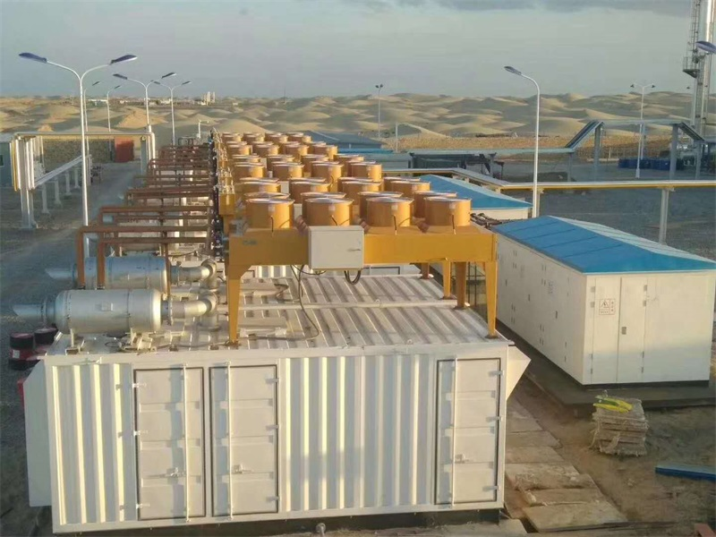 新疆LNG液化工厂4MW电站
