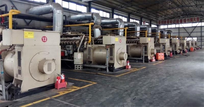 山西11MW煤矿瓦斯发电项目