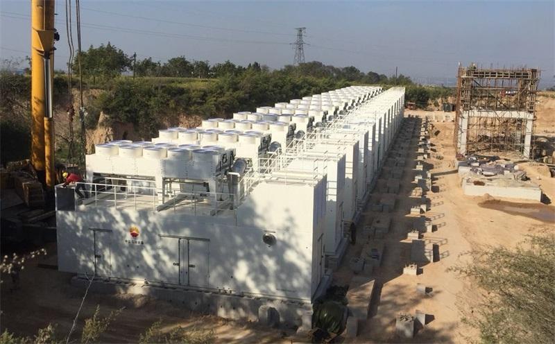 山西15MW煤矿瓦斯发电项目
