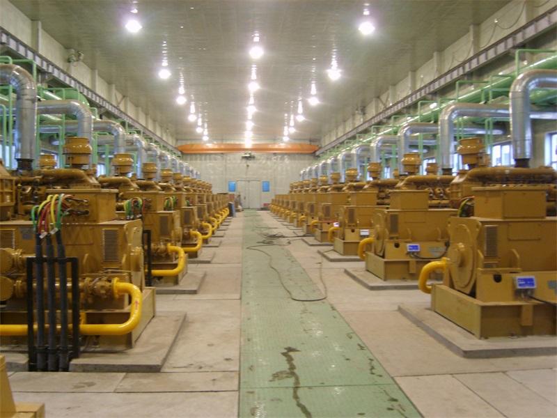 四川28×500kW瓦斯发电项目