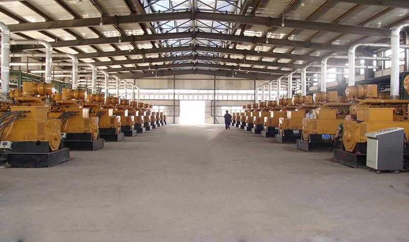 内蒙焦炉煤气发电项目36×500kW
