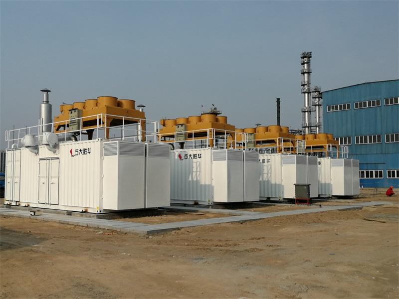 山东炼化气发电项目4×500kW