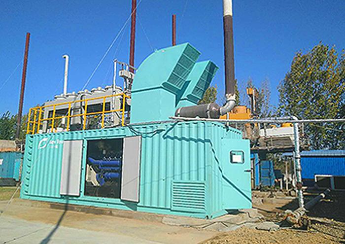 沼气发电机组的水介质能代替发动机的冷却剂吗?
