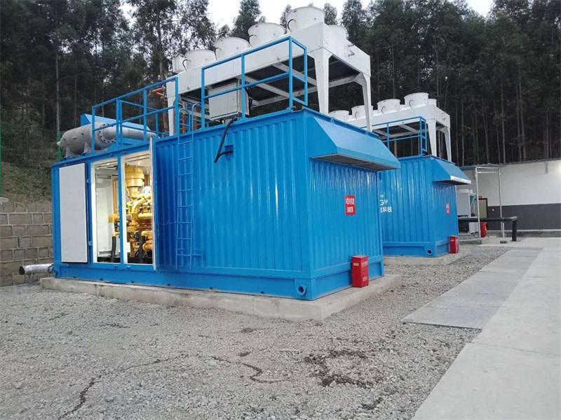 四川2×500kW填埋气发电项目