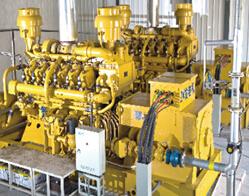 天燃气发电机组的工作性能介绍